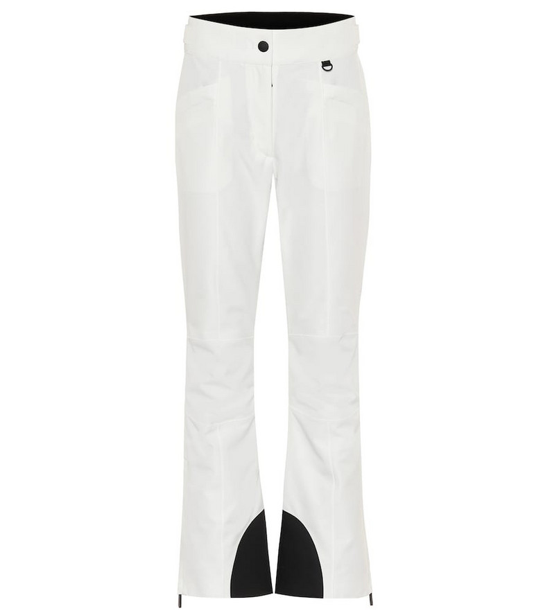 Moncler Grenoble Windstopper flared ski pants in white
