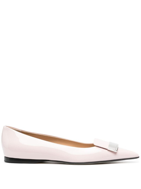 Sergio Rossi SR1 ballerina shoes in pink