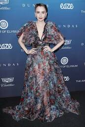 dress,tulle dress,lily collins,celebrity,gown,prom dress,celebrity style