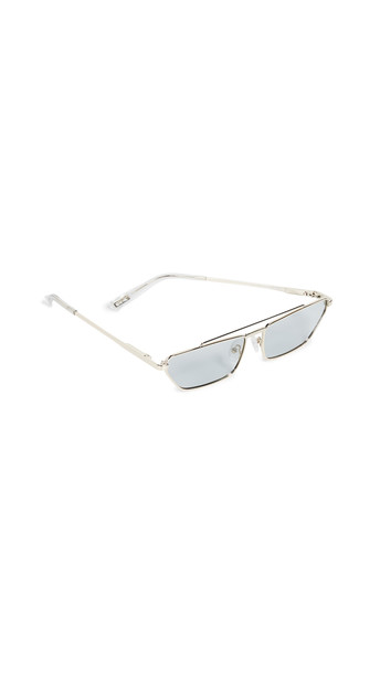 Le Specs Electricool Sunglasses in gold / grey