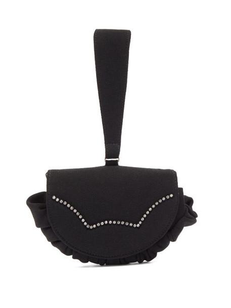 Shrimps - Kit Crystal-embellished Clutch - Womens - Black