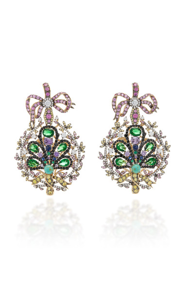 Anabela Chan Mirage 18K Gold Vermeil And Multi-Stone Earrings