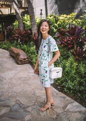 skirttherules,blogger,dress,shorts,bag,shoes