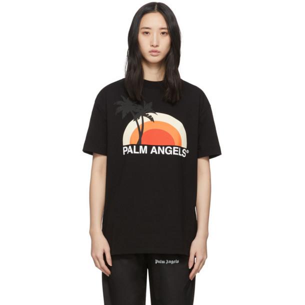 Palm Angels Black Sunset T-Shirt