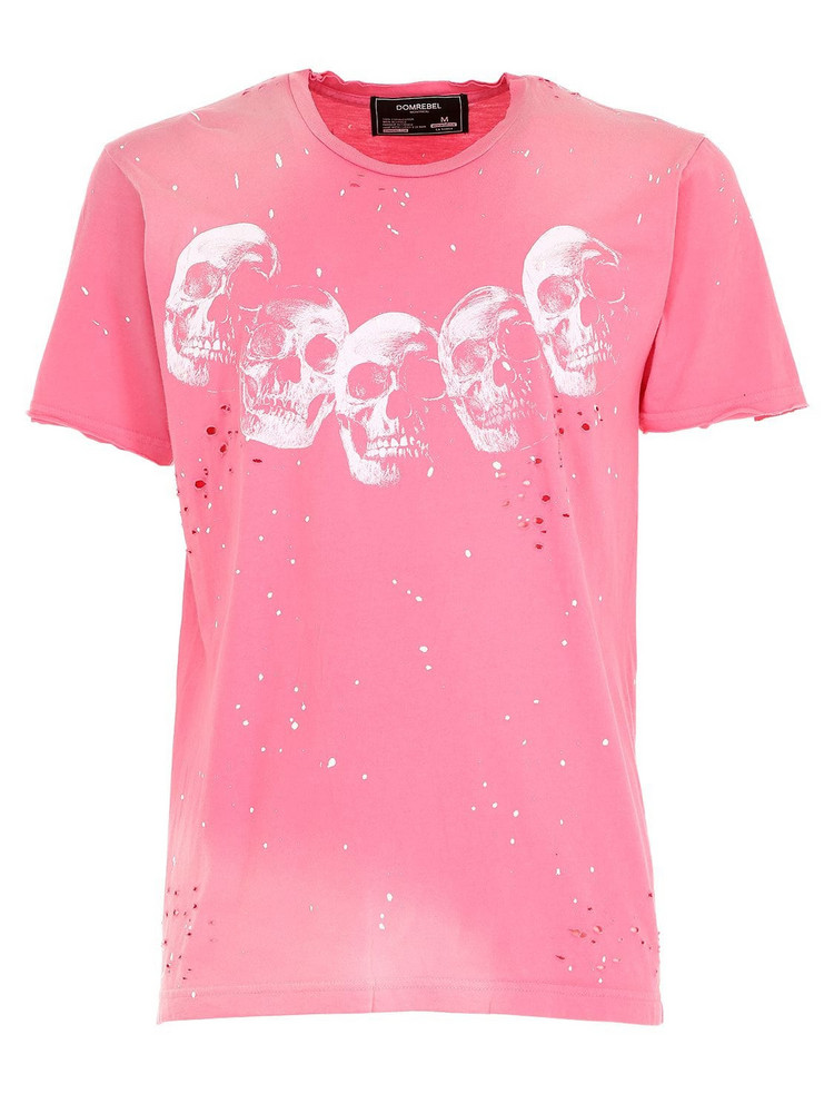 DOMREBEL Amigos Cotton Jersey T-shirt in pink