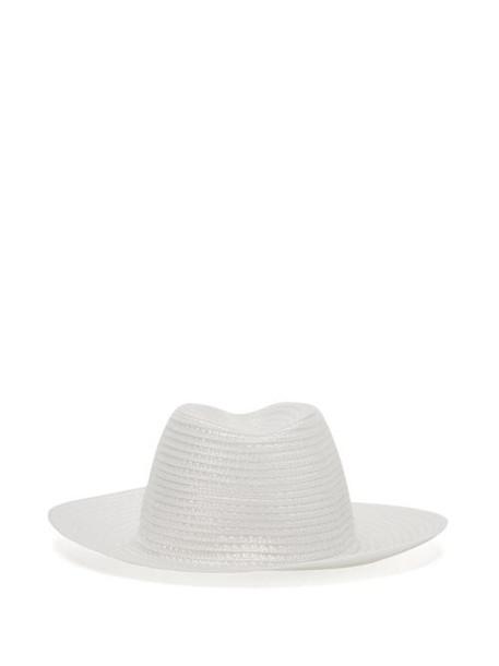 Reinhard Plank Hats - Beghe Woven Hat - Womens - White
