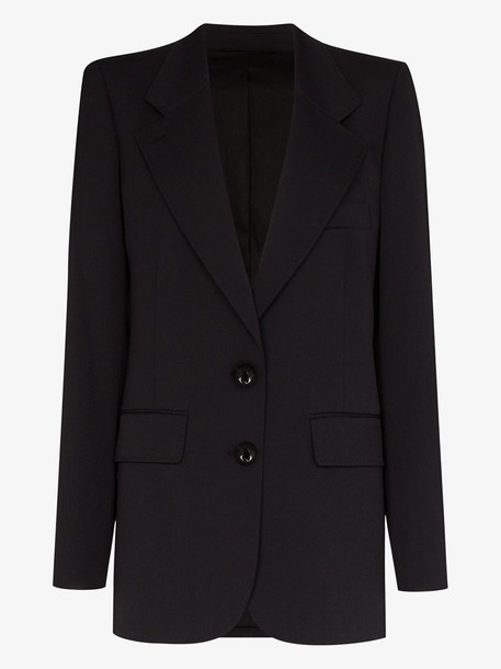 Lemaire single-breasted blazer in black
