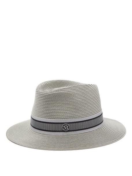 Maison Michel - Andre Straw Hat - Womens - Grey