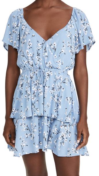MINKPINK Bluebell Fields Mini Dress in multi