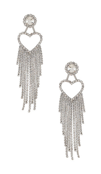8 Other Reasons Don't Call Me Baby Earring in Metallic Silver
