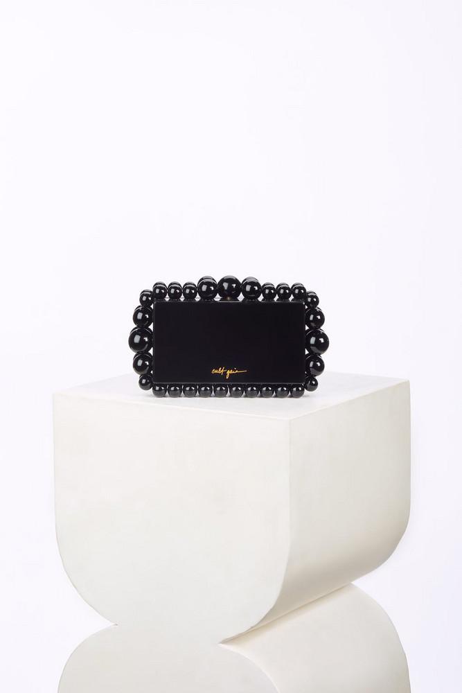 Cult Gaia Eos Box Clutch - Black                                                                                               $298.00