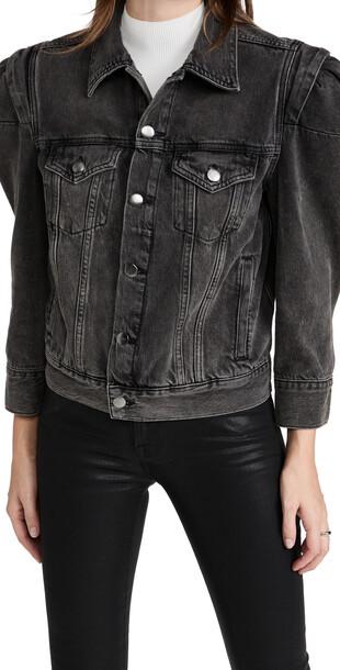 FRAME Rosette Sleeve Jacket