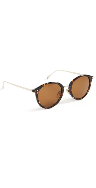 Isabel Marant Round Sunglasses in gold