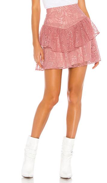 Tularosa Kai Skirt in Pink