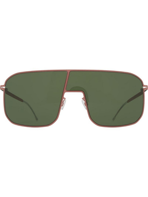Mykita Studio aviator sunglasses in green