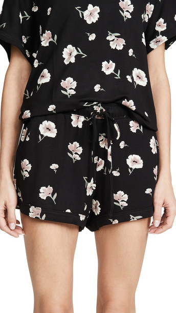 Z Supply The Bloom Shorts in black