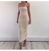 dress,beige,nude