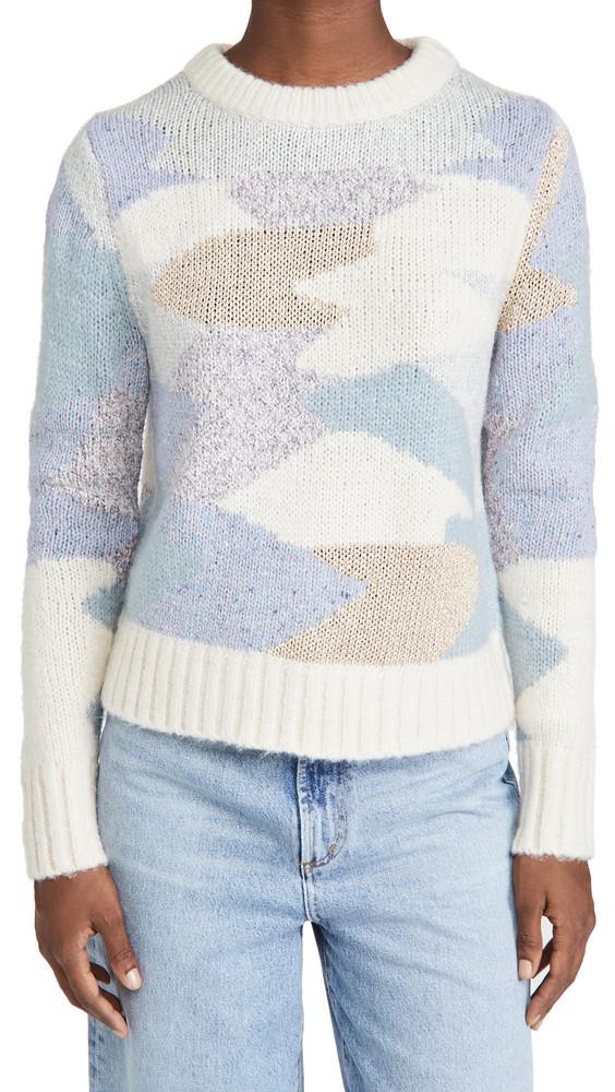 La Vie Rebecca Taylor Fluffy Aire Sweater in multi
