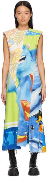 Rave Review Multicolor Terra Asymmetric Dress in multi