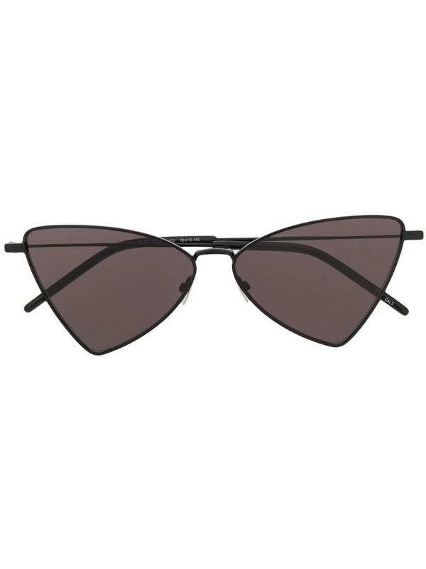 Saint Laurent Eyewear triangle frame sunglasses in black