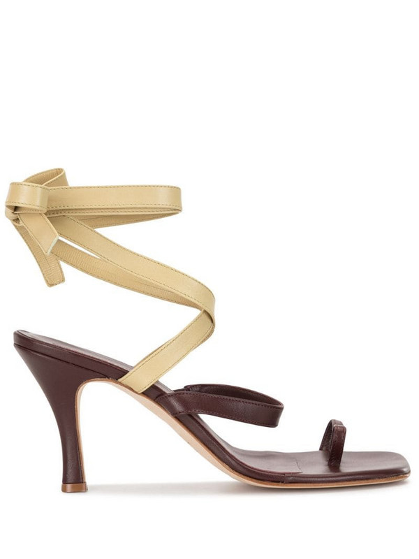 Christopher Esber Arta Heel sandals in brown