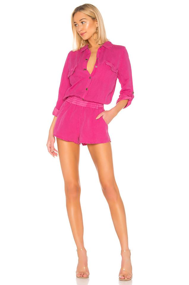 YFB CLOTHING X REVOLVE Noah Romper in pink