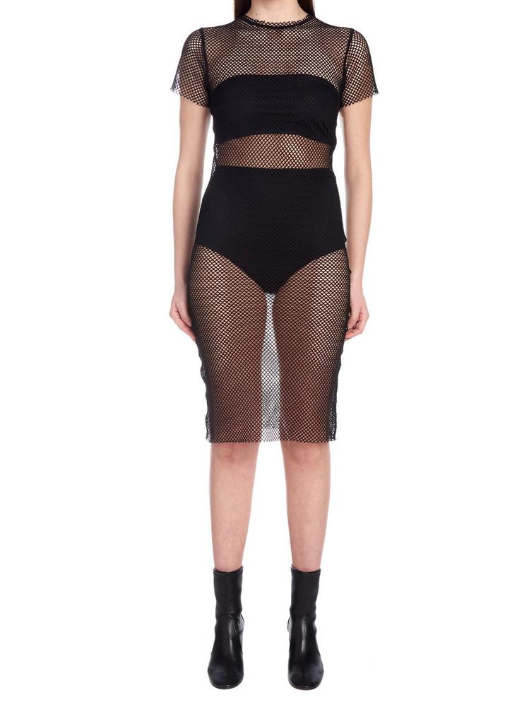(nude) Dress in black
