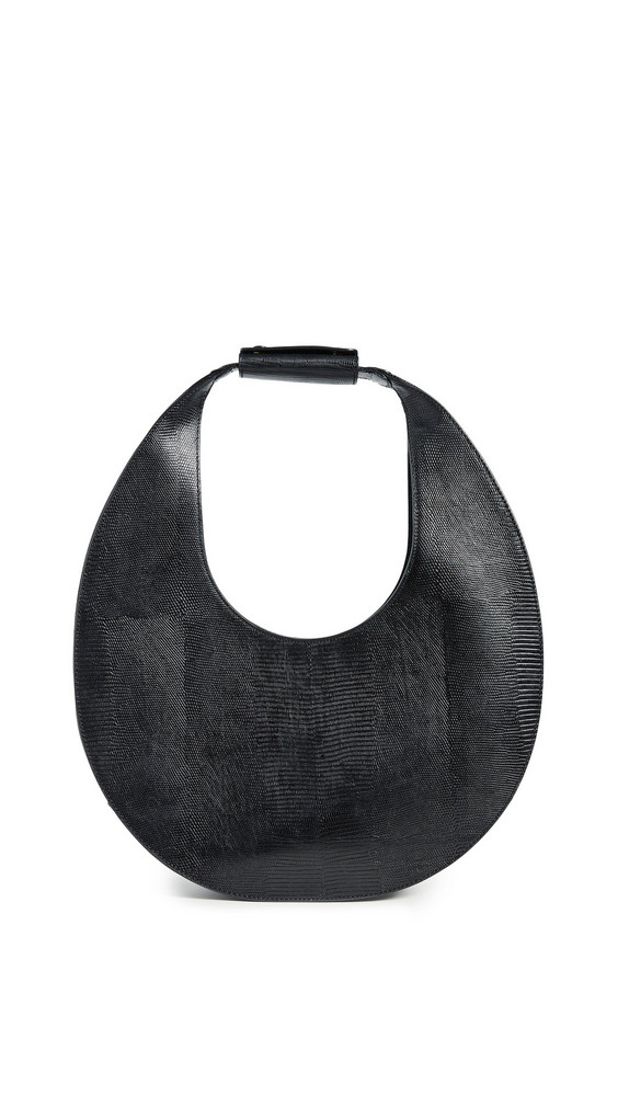 STAUD Large Moon Bag in black