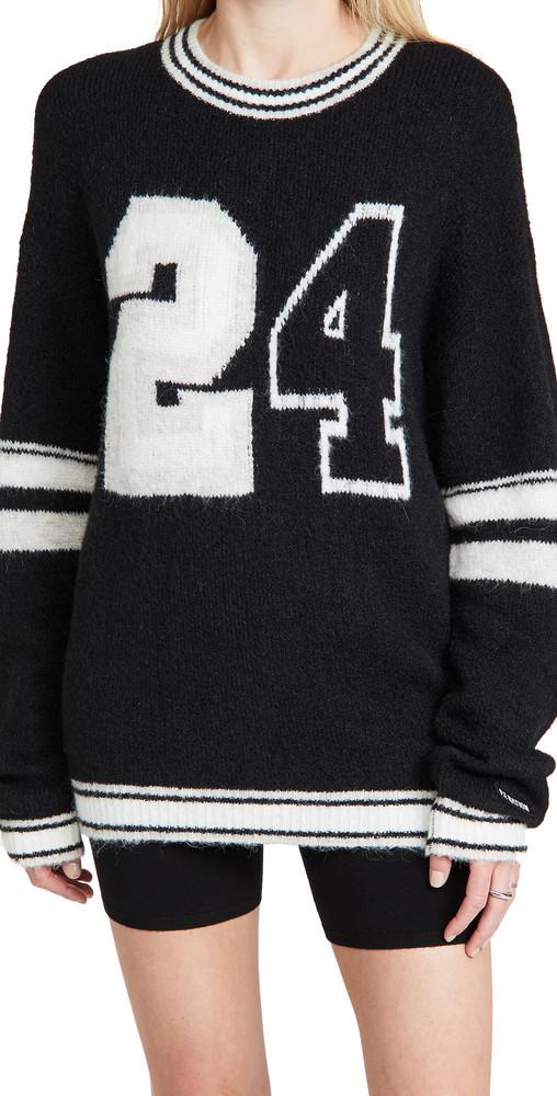 P.E NATION Annex Knit Sweatshirt in black