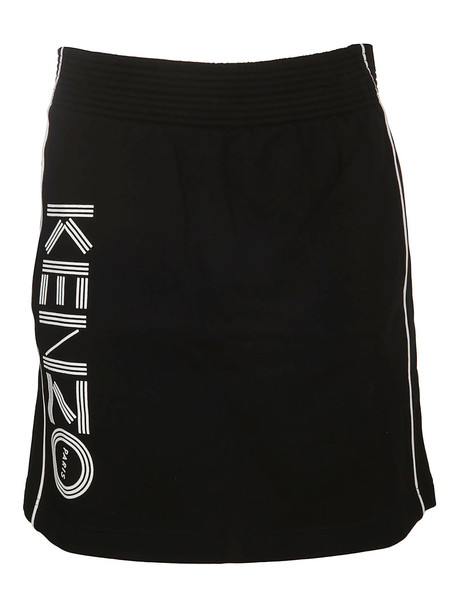 Kenzo Logo Skirt in black