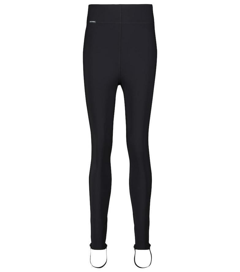Dolce & Gabbana High-rise stirrup leggings in black