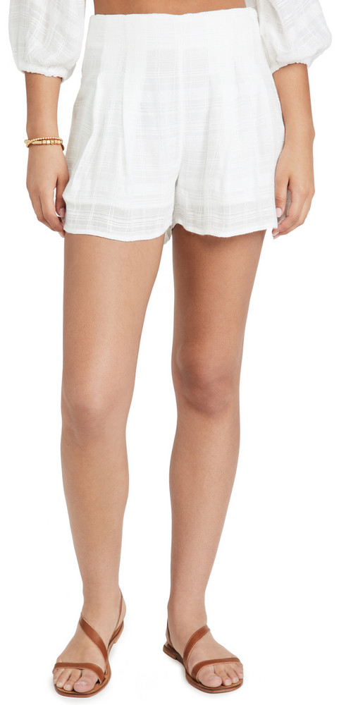 LSpace L*Space Ioana Shorts in cream
