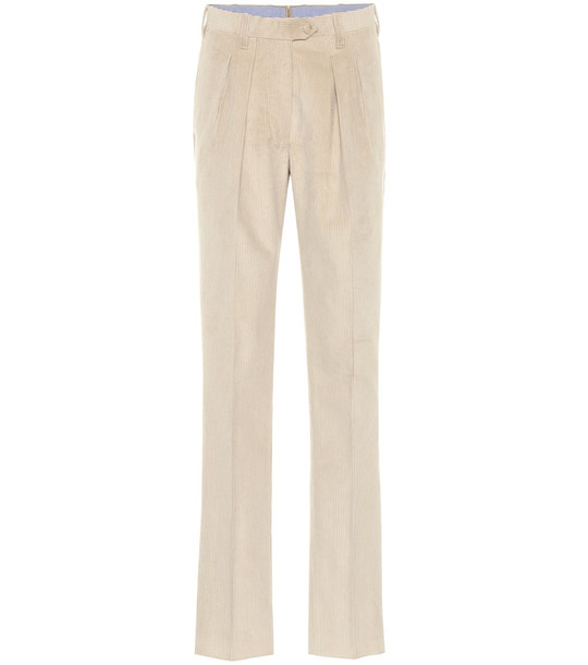 Giuliva Heritage Collection The Husband corduroy pants in beige