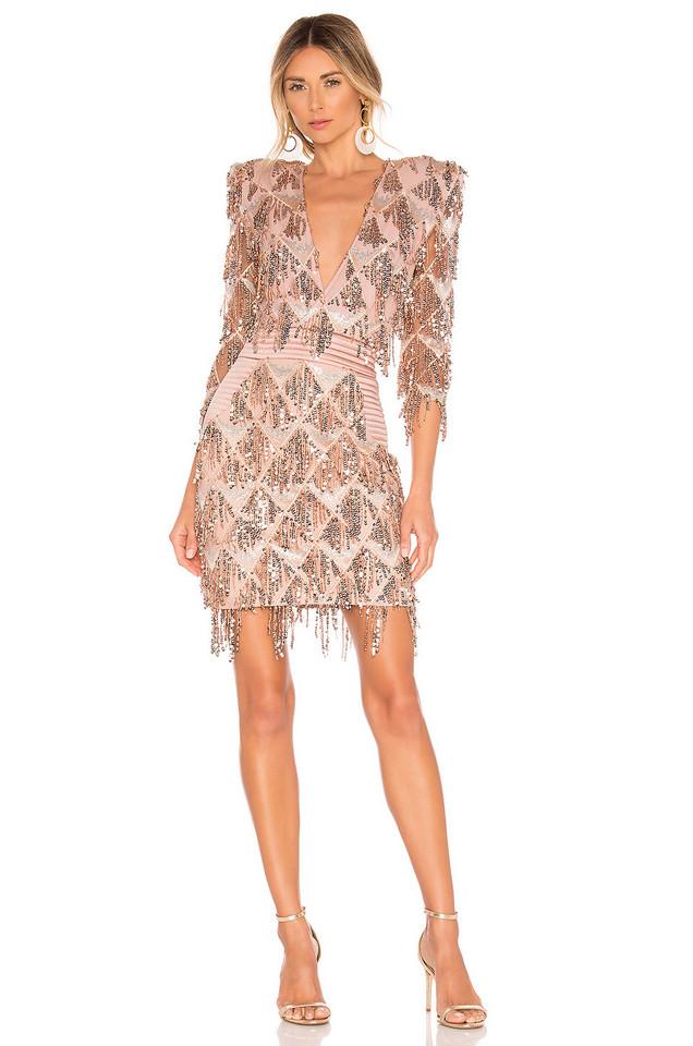 Zhivago Savoy Dress in blush