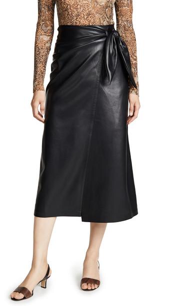 Nanushka Amas Skirt in black
