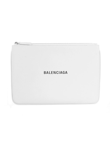 Balenciaga Everyday L Pouch M Baltimore Logo Eith Black Logo