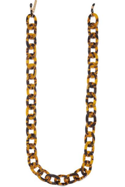 STAUD - Tortoiseshell Resin Sunglasses Chain