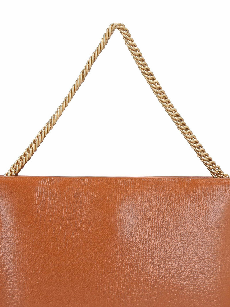 Givenchy Cross3 Leather Shoulder Bag in brown