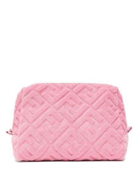 Fendi - Sunshine Medium Terry Pouch - Womens - Pink
