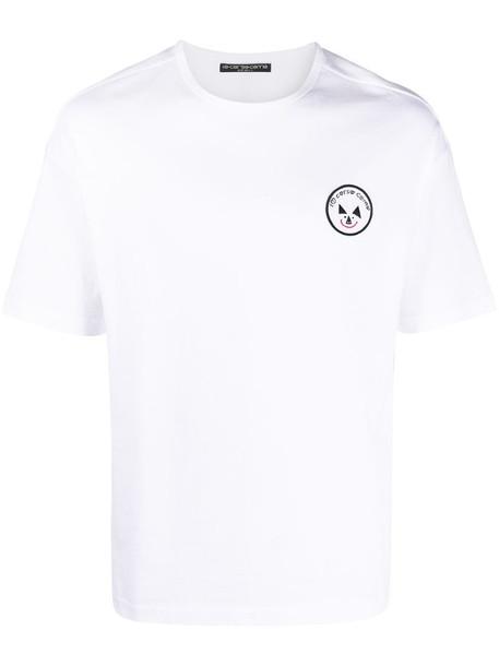 10 CORSO COMO logo-print crew-neck T-shirt in white
