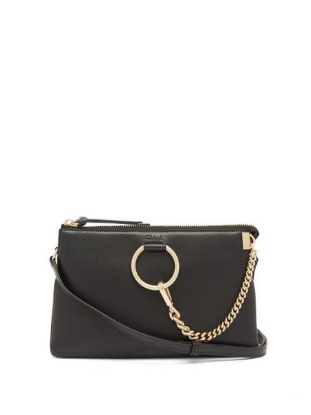 Chloé Chloé - Faye Mini Chain-strap Leather Cross-body Bag - Womens - Black