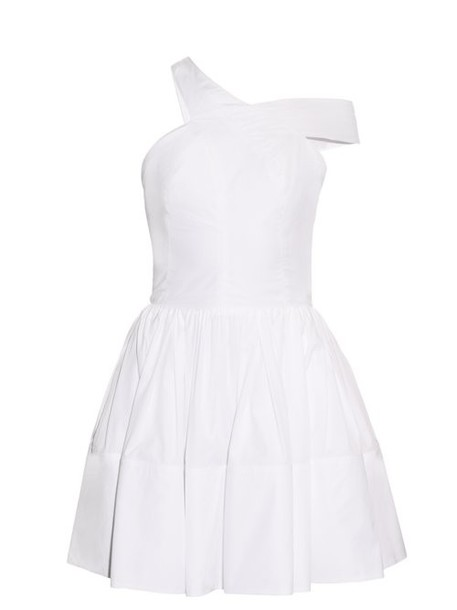 Sophie Theallet - Rula Asymmetric One Shoulder Dress - Womens - White