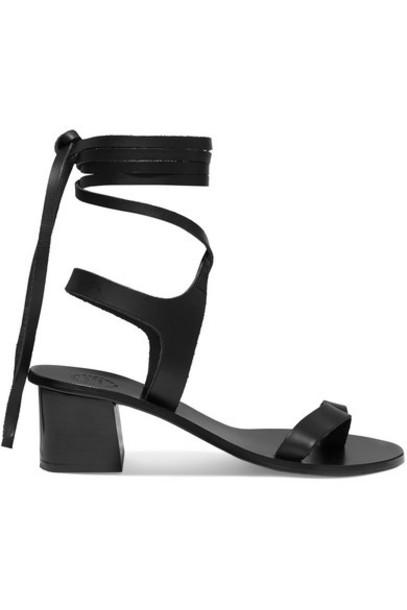 ATP Atelier - Canda Leather Sandals - Black