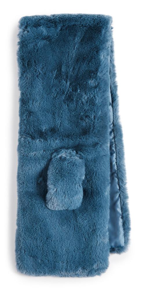 Apparis Luna Scarf in blue / stone