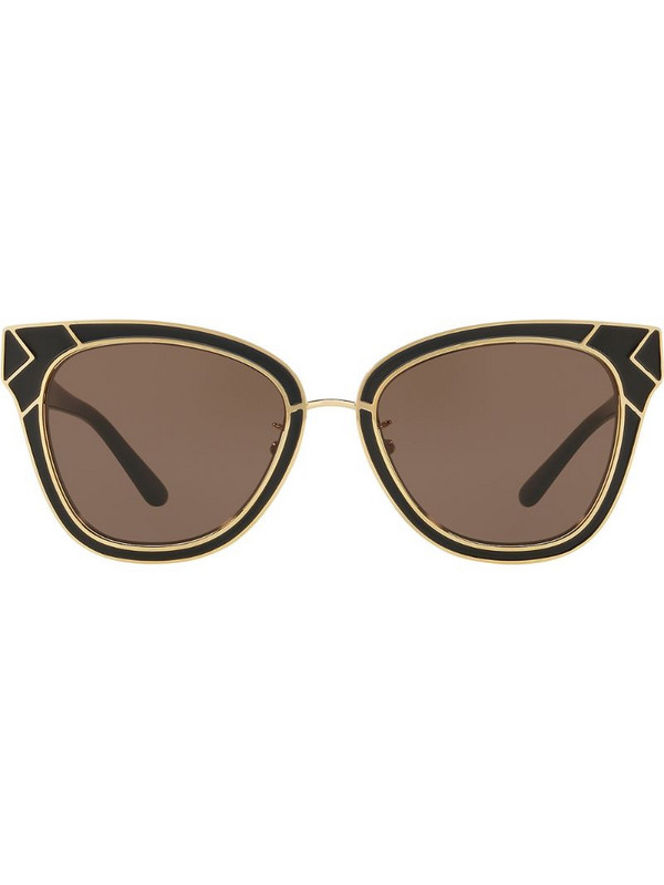 Tory Burch ovesized frame sunglasses in black