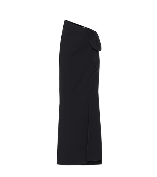 Maticevski Promised stretch-crêpe maxi skirt in black