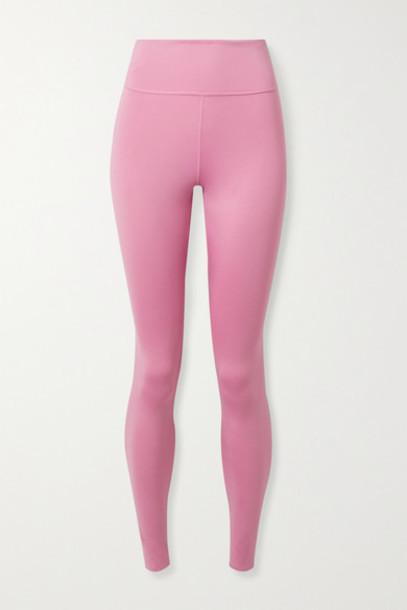 Nike - One Luxe Dri-fit Leggings - Pink