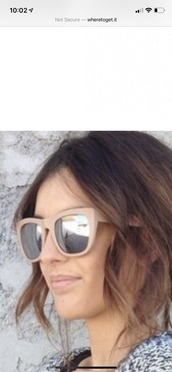 sunglasses,matte sunglasses,mirrored sunglasses,beige sunglasses