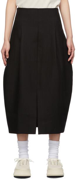 Studio Nicholson Black Reyna Skirt