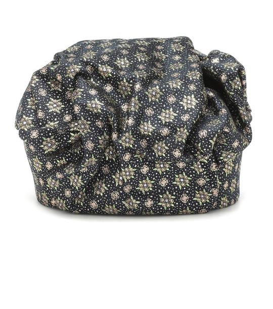 Erdem Metallic jacquard hat